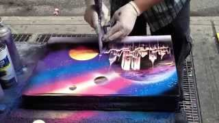 Уличный художник создает восхитительную картину за 6 минут.(Видео, которые перевернули интернет! Присоединяйся! Рекомендую!, 2015-05-28T13:10:01.000Z)