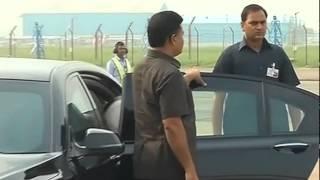 PM Narendra Modi leaves for Jammu and Kashmir