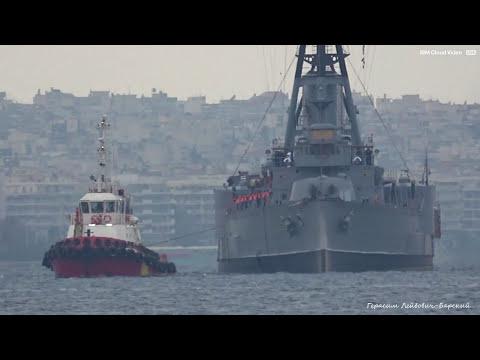 Последний броненосный крейсер к бою готов! Last armored cruiser on Earth ready for battle Now!