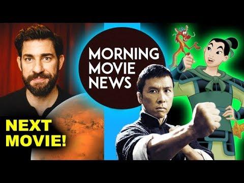 "John Krasinski to direct ""Life on Mars"", Donnie Yen cast in Live Action Mulan"