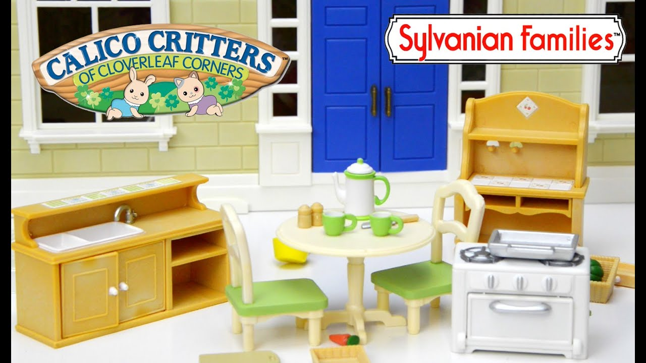 sylvanian families country kitchen sylvanian families calico critters country kozy kitchen 5965