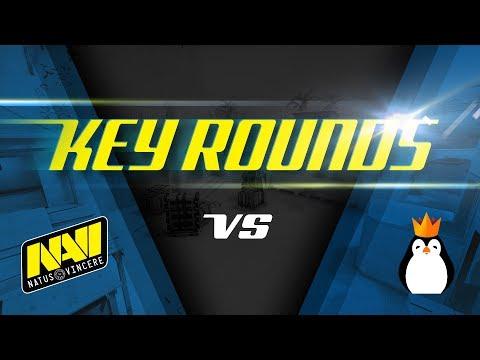 Key rounds: Na`Vi vs Kinguin on Mirage [RU/EN]