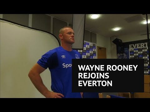 Wayne Rooney calls Everton return a 'no-brainer' after Manchester United exit