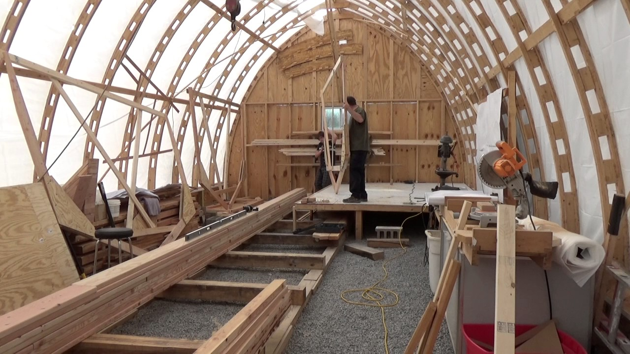 Building wooden boat frames with glue/bolts and cutting the chine ...