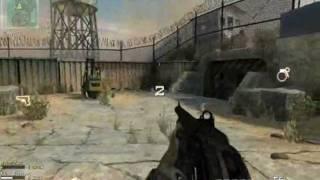 Call of Duty Modern Warfare 3 on Intel 4500M (Dome map)