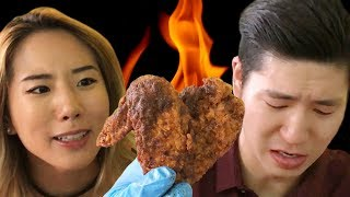 connectYoutube - We Tried The Spiciest Chicken In Los Angeles