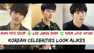5 KOREAN CELEBRITIES LOOK A LIKES 2018