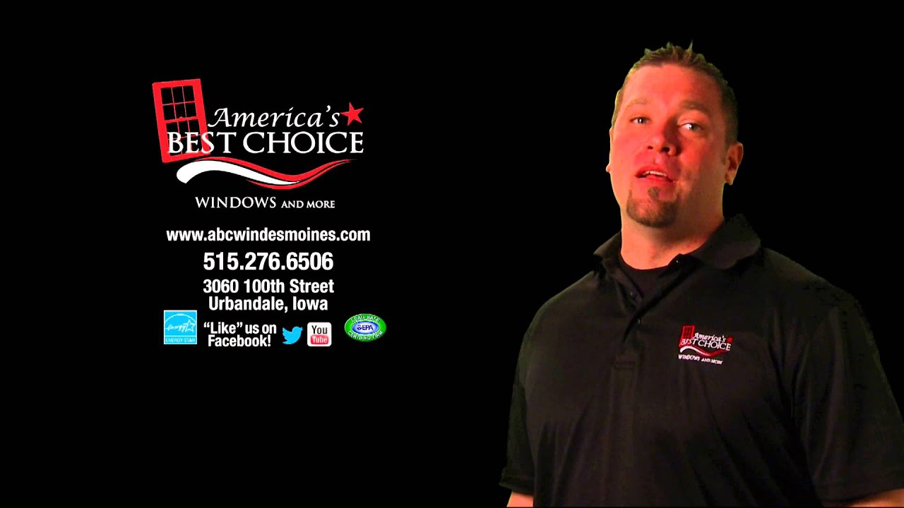 america 39 s best choice windows more des moines 179 installed youtube. Black Bedroom Furniture Sets. Home Design Ideas