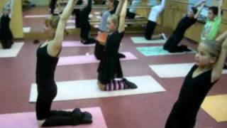 Гимнастика для детей 9 - 12 лет