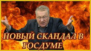 Жириновский, случайно, спровоцировал СКАНДАЛ В Госдуме.