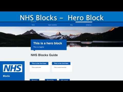 NHS Blocks WordPress Plugin Tutorial thumbnail