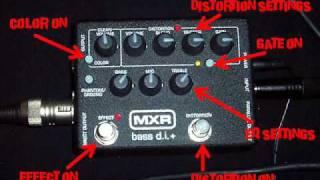 MXR M80 Bass DI+ Preamp