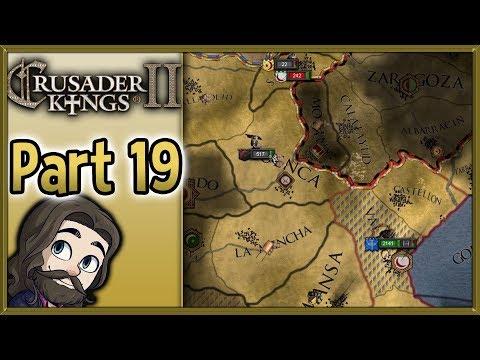 Crusader Kings II Asturias Gameplay - Part 19 - Let's Play Walkthrough