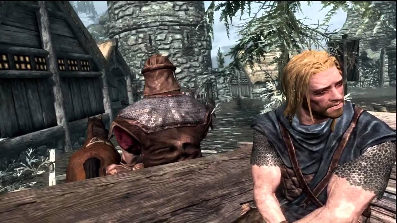 Image result for Skyrim Opening Scene