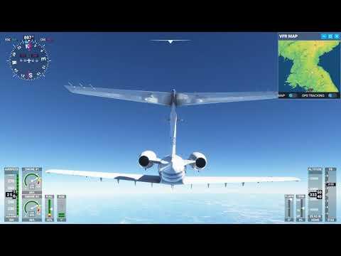 Flying into north Korea msf 2020