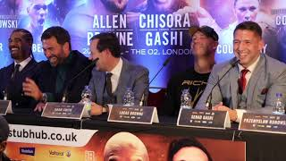 LOL! - SENAD GASHI HAS THE PRESS CONFERENCE IN STITCHES WITH BRILLIANT ONE-LINER OVER CHIS ...