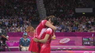 Women's Badminton Doubles - Chinese Taipei v India  | London 2012 Olympics