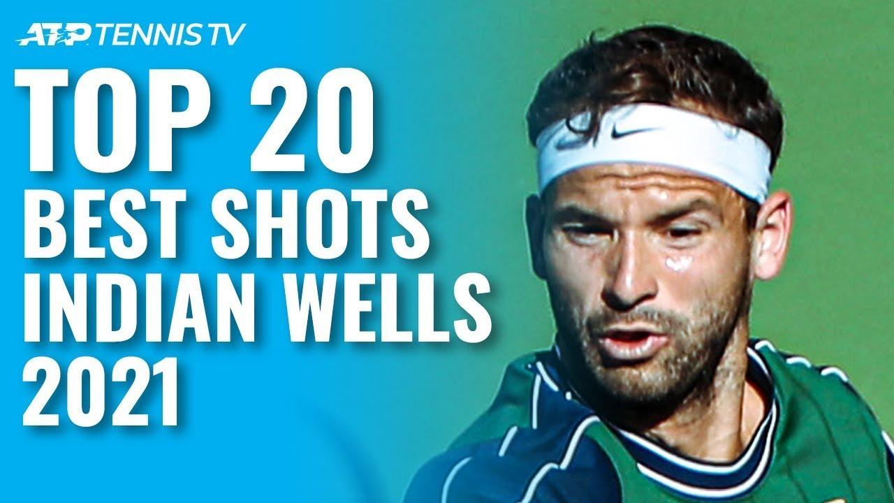 Dimitrov & Alcaraz Acrobatics, Norrie & Zverev Skill | Top 20 Shots and Rallies Indian Wells 2021