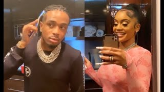 Quavo Get Mad After Saweetie Calls Him A Joint For Brushing His Baby Hairs