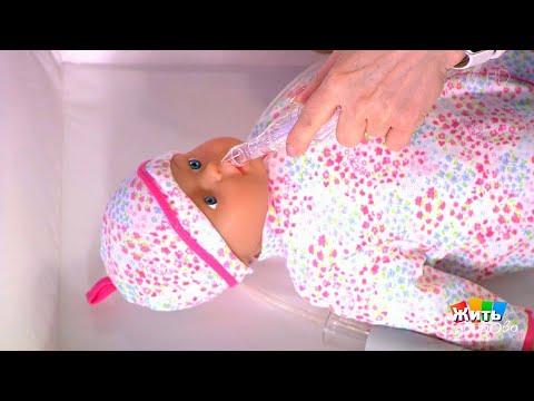 Как почистить нос от соплей новорожденному ребенку