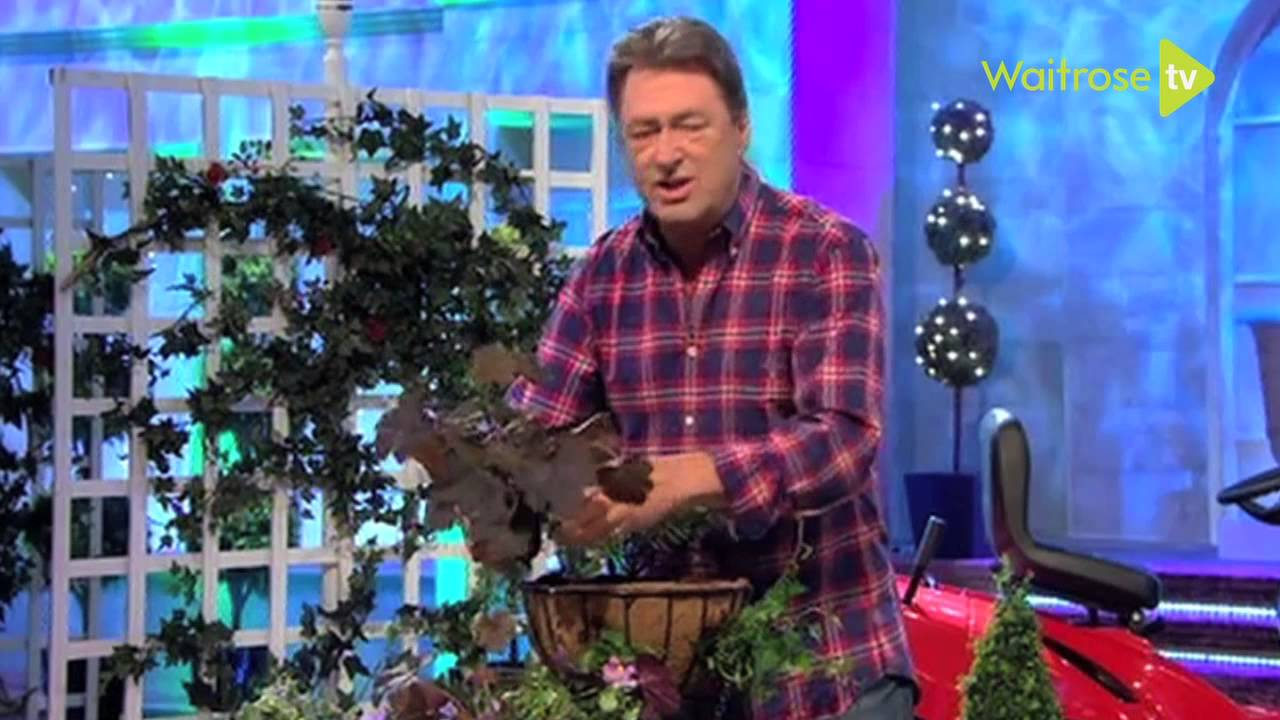 How To Plant Winter Hanging Baskets Waitrose Garden