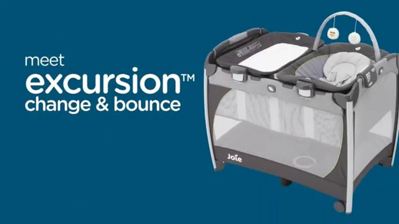 Joie Excursion Change & Bounce - манеж-кровать (Джои Чэндж Баунс .