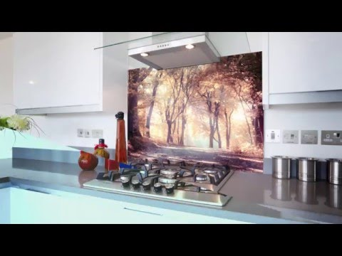 Glass Splashbacks - Dozens Of Printed Picture Splashbacks - Made In The UK  By Splash Acrylic