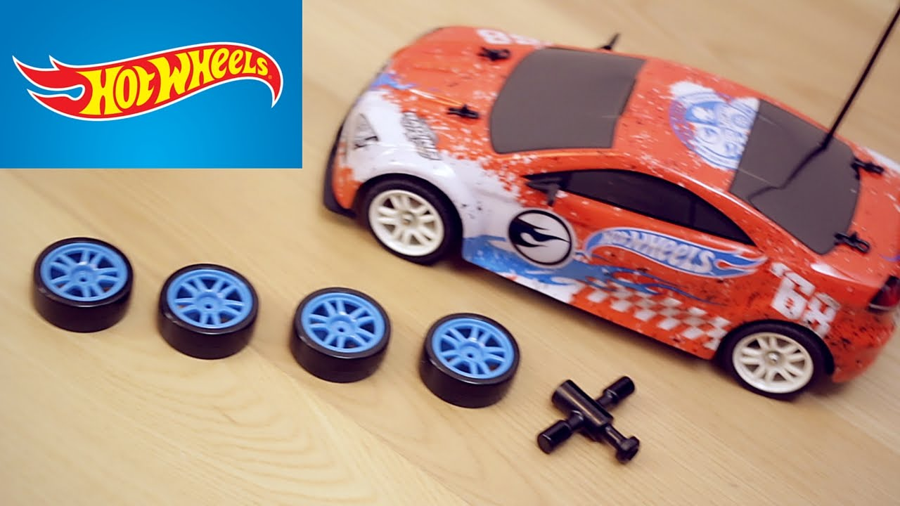 Hot Wheels Radiocomandata Drift Car Ruote Intercambiabili Youtube