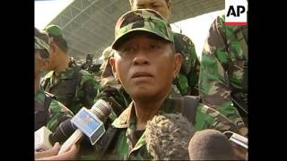 Army chief inspects soldiers, comments on rebels