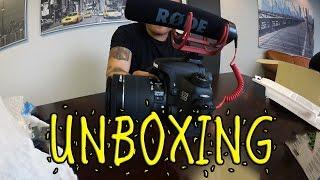 Canon 70D Creator Kit Unboxing | Mic & Video Test