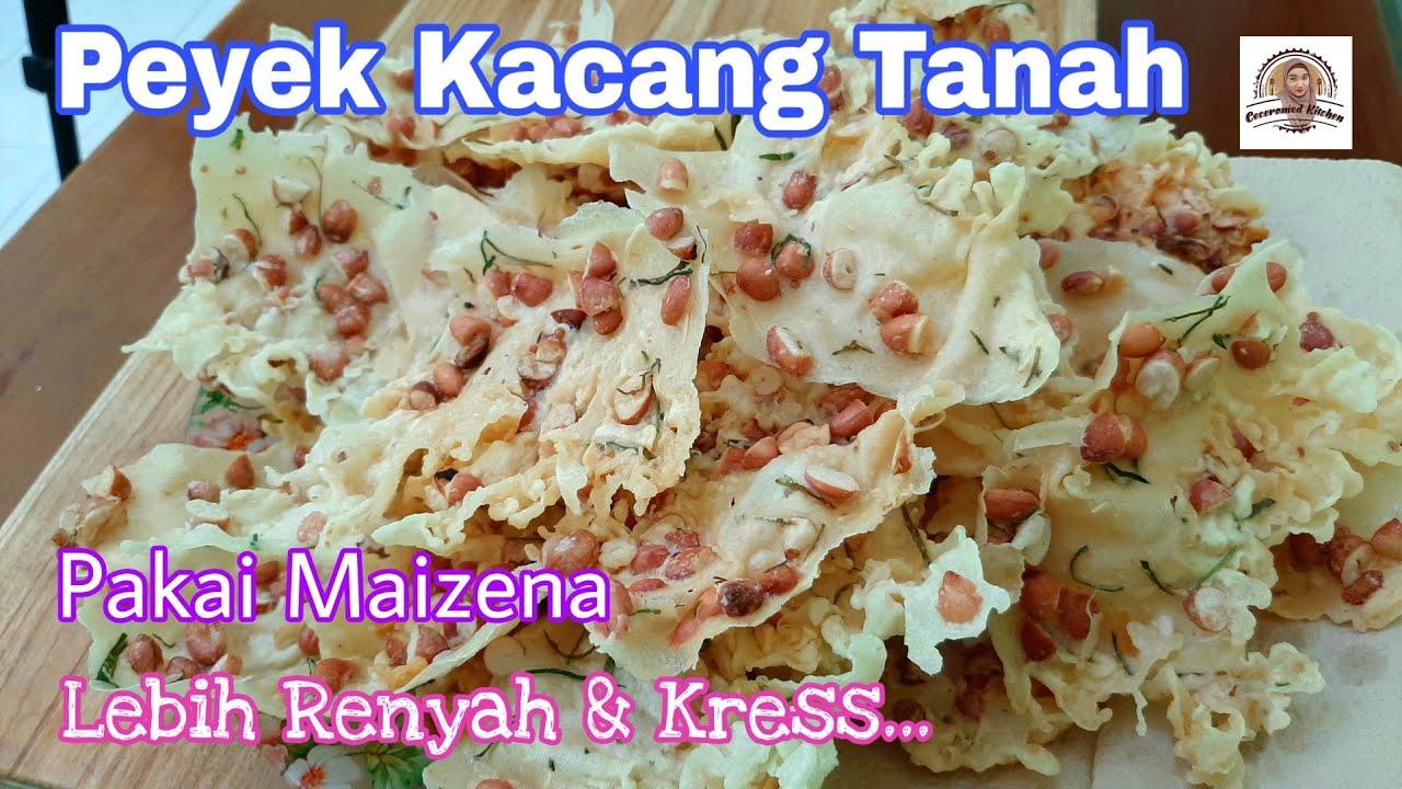 Download Tambahin Maizena di Adonan Rempeyek Kacang Tanah, Renyah Kress..kress..