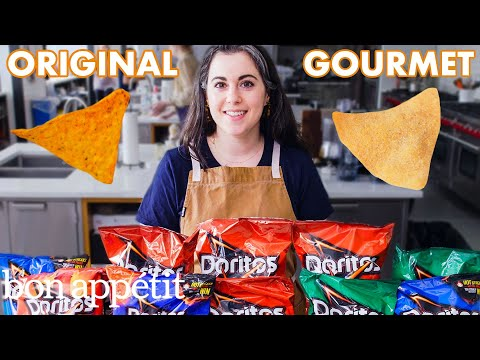 Pastry Chef Attempts to Make Gourmet Doritos | Gourmet Makes | Bon Apptit