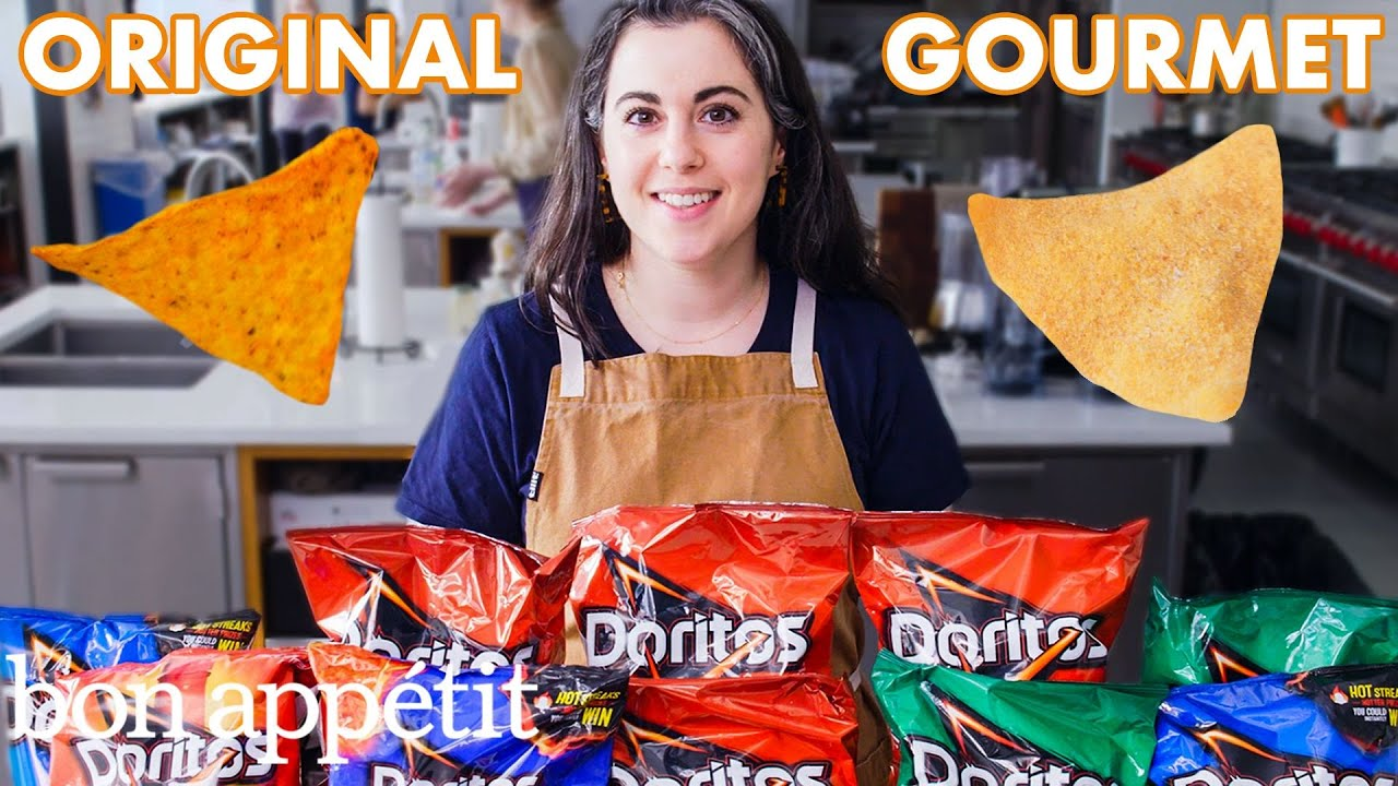 Pastry Chef Attempts to Make Gourmet Doritos | Gourmet Makes | Bon Appétit image