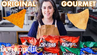 Download Pastry Chef Attempts to Make Gourmet Doritos | Gourmet Makes | Bon Appétit Mp3 and Videos