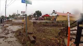 Boulder Colorado flooding video in and around the city 9-12-2013