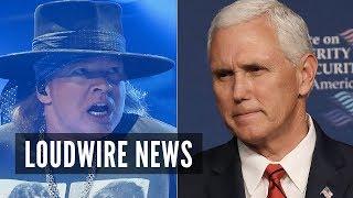 Axl Rose Blasts White House for 'PR Stunt'