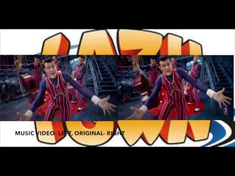 We Are Number One- Comparison Between Music Video and Original