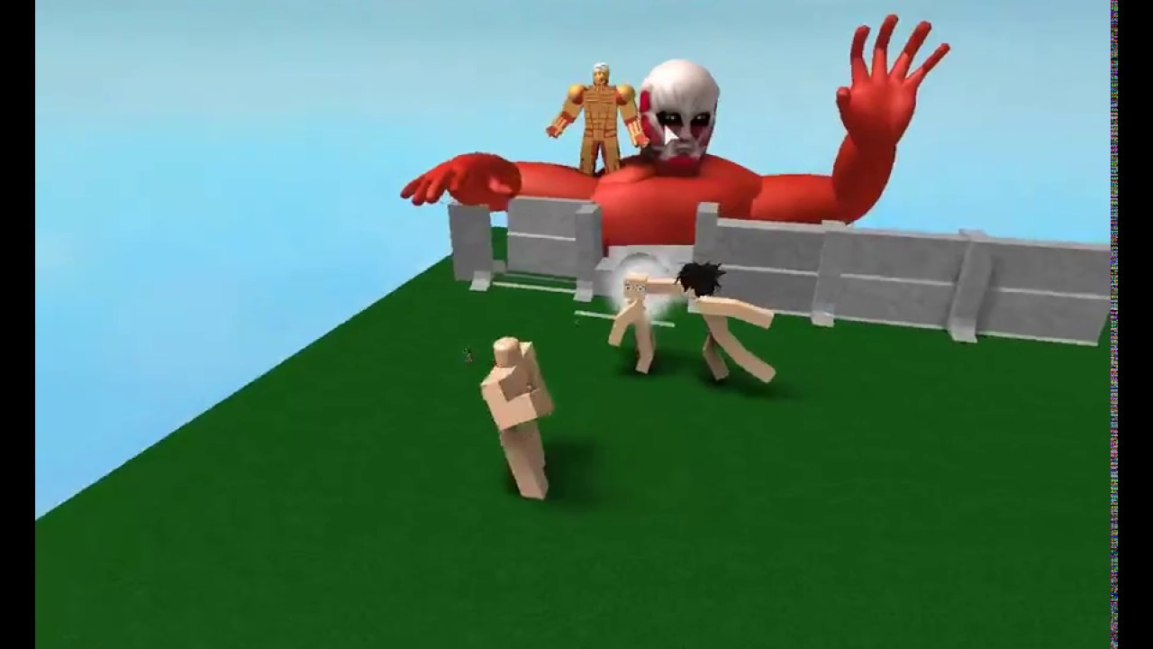 youtube roblox attack on titan how to become