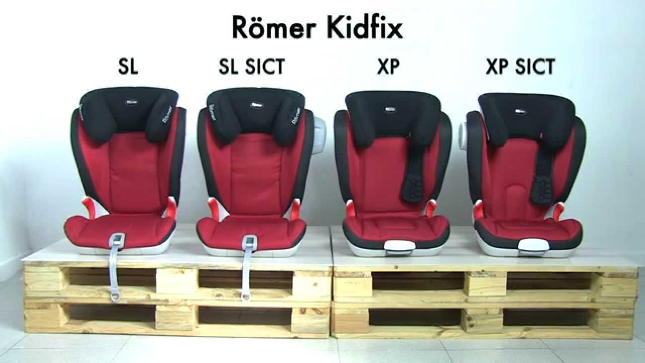 Populære Römer Kidfix | Diferencias entre modelos | SillaCocheBebe.com QS-97