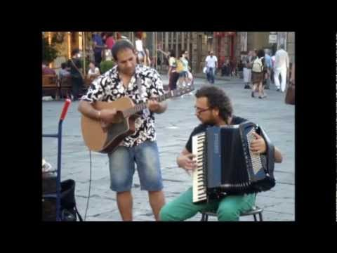 Street Music & Fireworks in Florence, Italy 2012