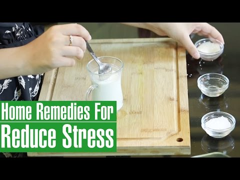 2 Best Natural Home Remedies For STRESS RELIEF