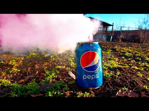 How to make a Smoke Grenade PEPSI (sawdust and ammonium nitrate)