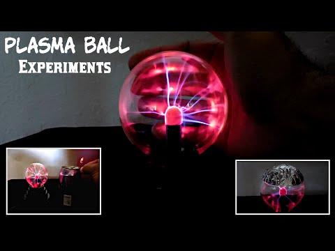 Plasma Ball Experiments
