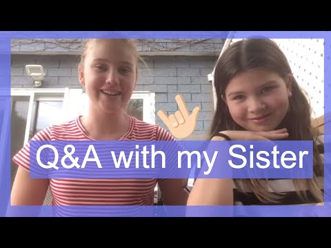 Tourettes Q&A with my sister