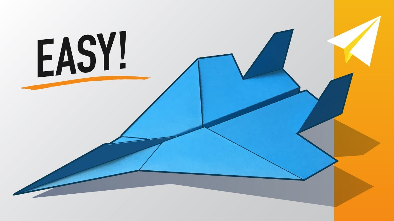 Easy F 15 Paper Airplane How To Make An Amazing Jet