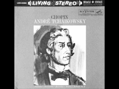ANDRE TCHAIKOWSKY plays CHOPIN (1960)