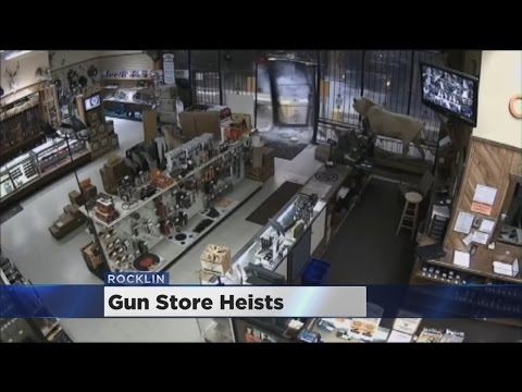100 Guns Stolen In Rocklin Smash And Grab Part Of Troubling Trend