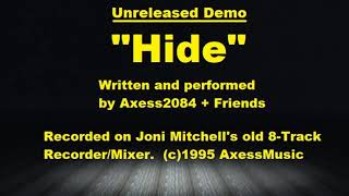Axess2084 - Hide - Unreleased 1995 EP Demo