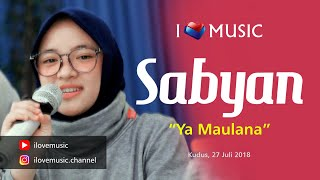 Gambar cover Sabyan - Ya Maulana - Konser Kudus (Official ILoveMusic) Full HD