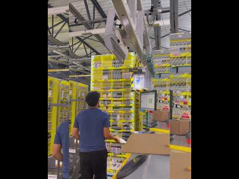 Stowing Fast At Amazon